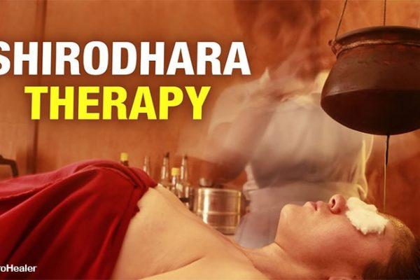शिरोधारा:- मानसिक और शारीरिक तनाव से आराम